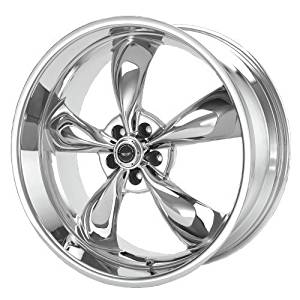 American Racing Torq Thrust M AR605 Chrome Wheel (17x9/5x114.3mm) by American Racing