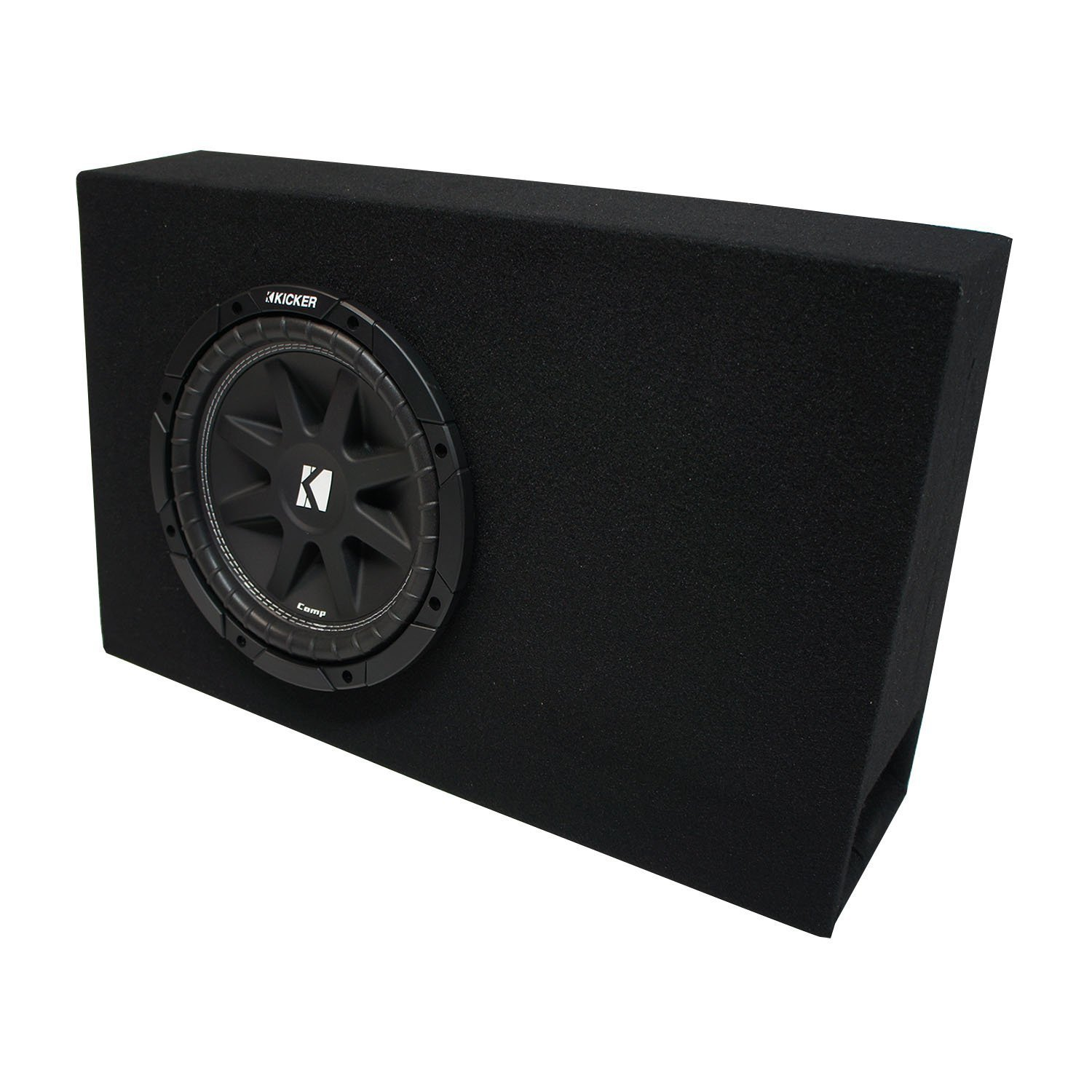 "Vented 1-12/"" Sub box for 2008-2012 Honda Accord Coupe or Sedan Ported"