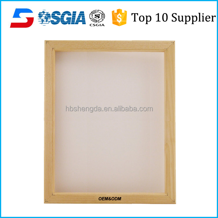 A3 Screen Printing Wooden Frame With 32t Mesh (80t Us) - For Screen ...