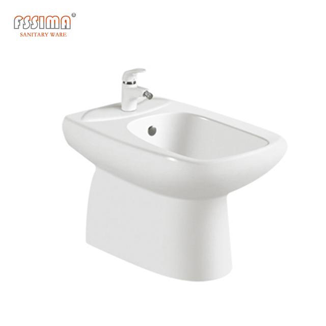 Arab Design Porcelain Wc Toilet Set With Basin And Bidet Green