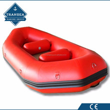 inflatable floating white water rafting boat with CE certificate