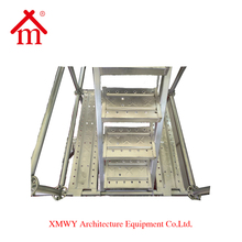 Construction Ladders / Prevent Rusting Galvanized Used Metal Stairs / Prefabricated Staircase Outdoor