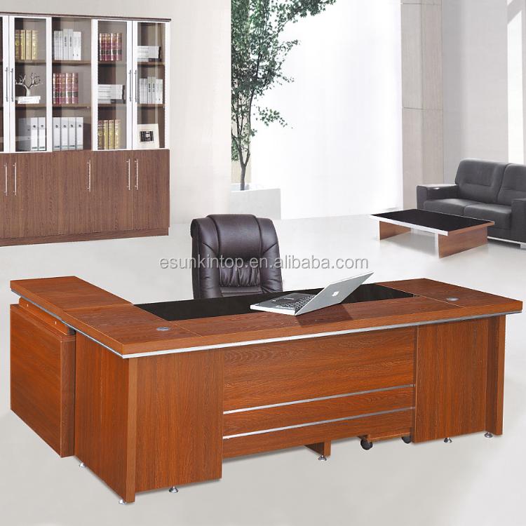 2015 moderno mobiliario de oficina mesa de oficina escritorio ...