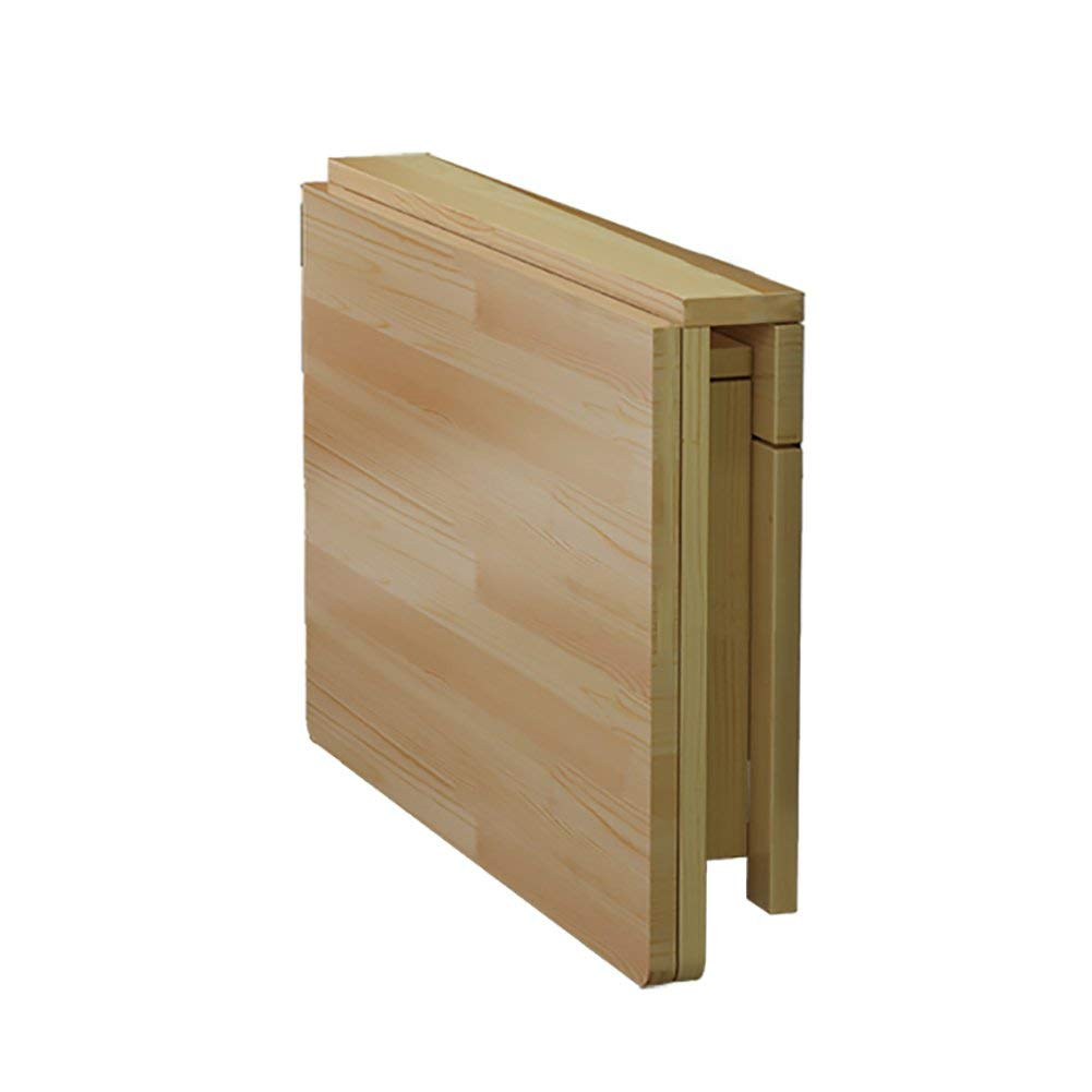 Mmdp Wall-mounted Computer Desk Folding Dining Table Solid Wood Side Table Wall Hanging Desk (Size : 7050cm)