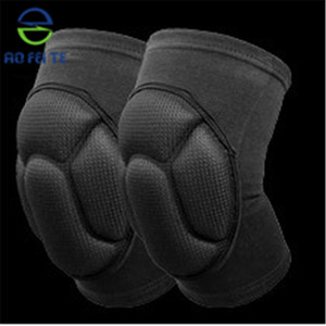 Knee Pad with Thick Sponge Insert for Impact Absorption Compression Sleeve For Sports and Activities.