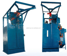 double hook shot blasting machine q3720 2 Tons hoist