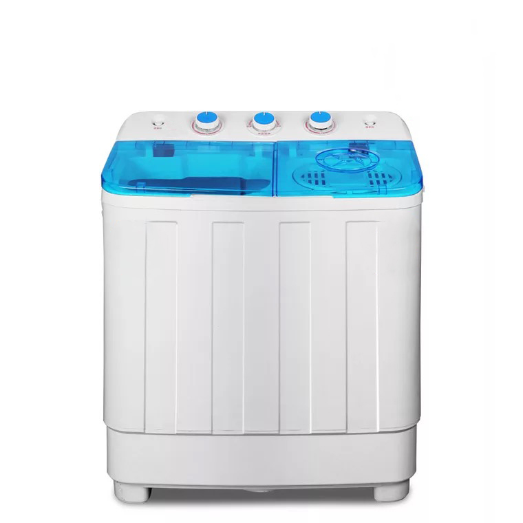 CE CB certificates free standing twin tub semi-automatic clothes washing machine with dryer