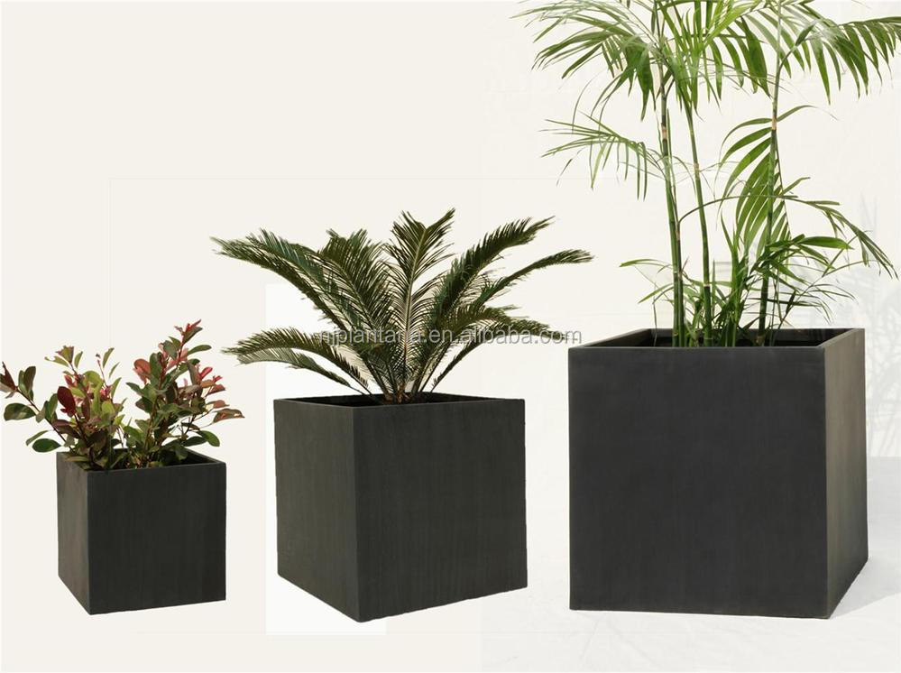 classic pots garden use beautiful square plant pots