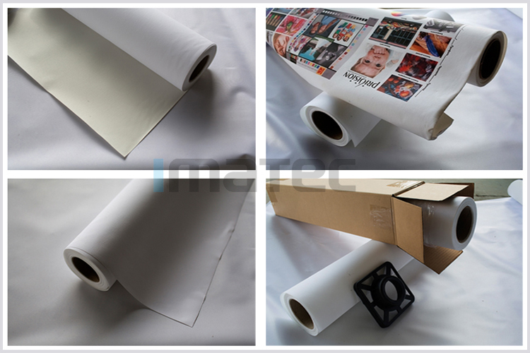 Waterproof 260gsm Cotton Matte Inkjet Canvas Roll,Economic Cotton Canvas Fabric