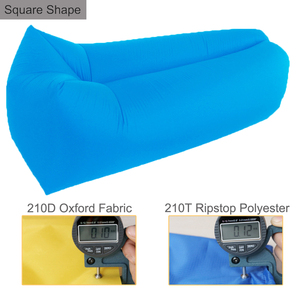 Travel air bean bag inflatable lounger lazy air sofa bed lazy bed from shenzhen