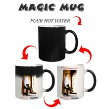 Small order cheap price customized magic mug wholesale,sublimation magic mug,color changing mug
