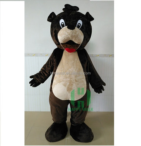 Crazy Fun Custom Adult Size Super Soft Plush Bear Mascot Costumes China Made for Party or Carnival