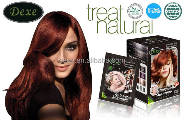 Dexe Hair Color Shampoo Color Hair Like Normally Washing Hair/family Use -  Buy Hair Color Change Shampoo,Natural Hair Coloring Shampoo,Ammonia Free ...