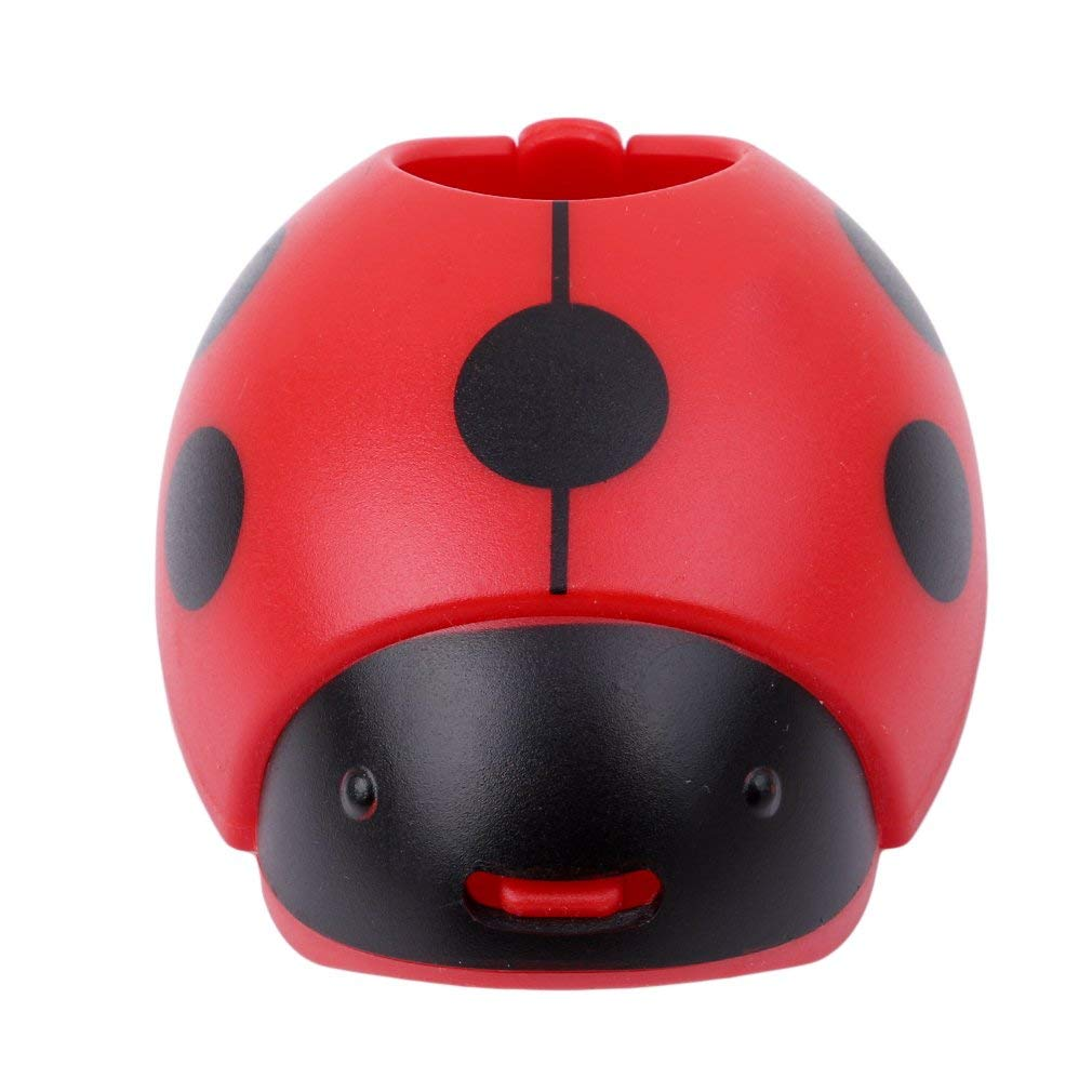 Ladybug Shape Corn Stripper Stainless Steel Corn Grain Separator Cob Remover Cutter Thresher Kitchen Gadgets,red,3.933.141.77in