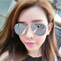 FONEX Brand classics stylist Men Women Sunglasses New Fashion Mirrored Lens UV Protection Eyewear Female Pilots
