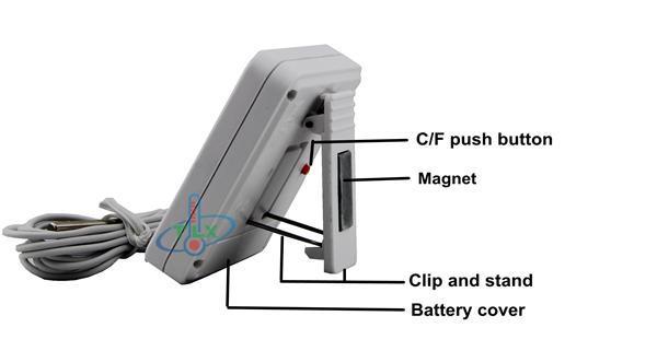Kühlschrank Alarm : Digital kühlschrank gefrierschrank alarm thermometer kühlschrank