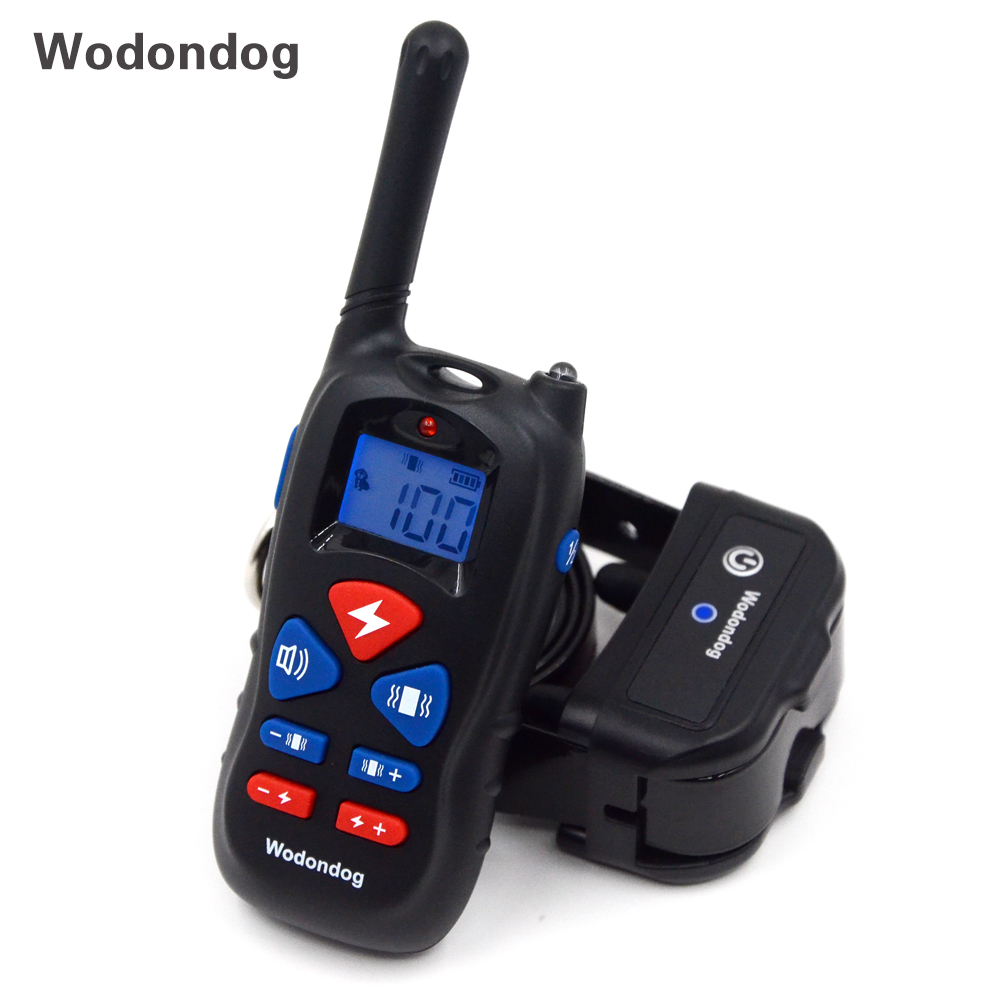 Wodondog New Private model P11 300-500m Remote Shock Dog Training Collar