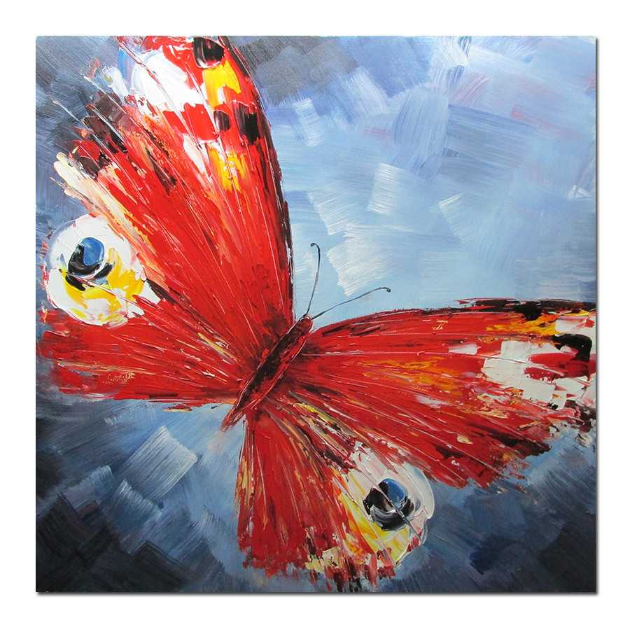 Free-shipping-and-100-high-grade-hand-painted-wall-art ...