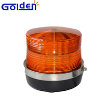 48 LED 12v 48v magnetic flashing tower warning ABS base wrecker beacon light for truck