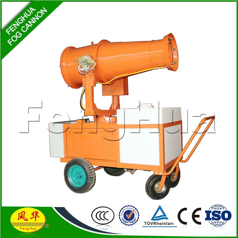 DS-30 Trolly mounted manual or self supporting agriculture watering greens high pressure sprayer