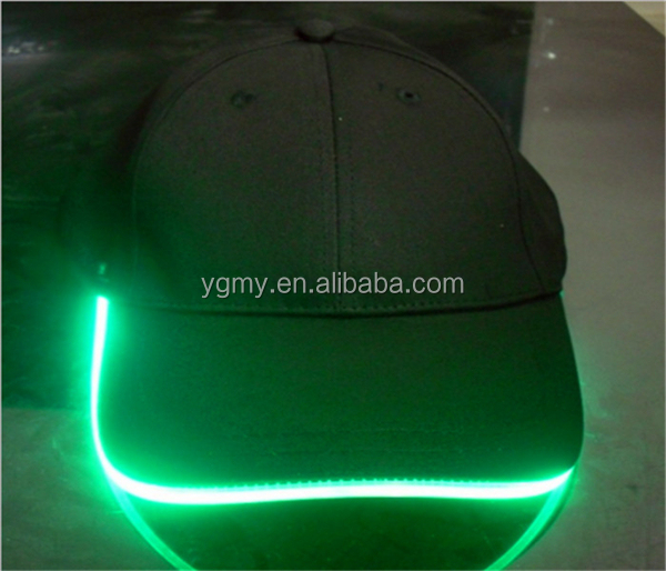 baseball caps lights lighted hats cap manufacturers led