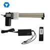 12v 400mm stroke low noise furniture linear actuator price for TV lifting