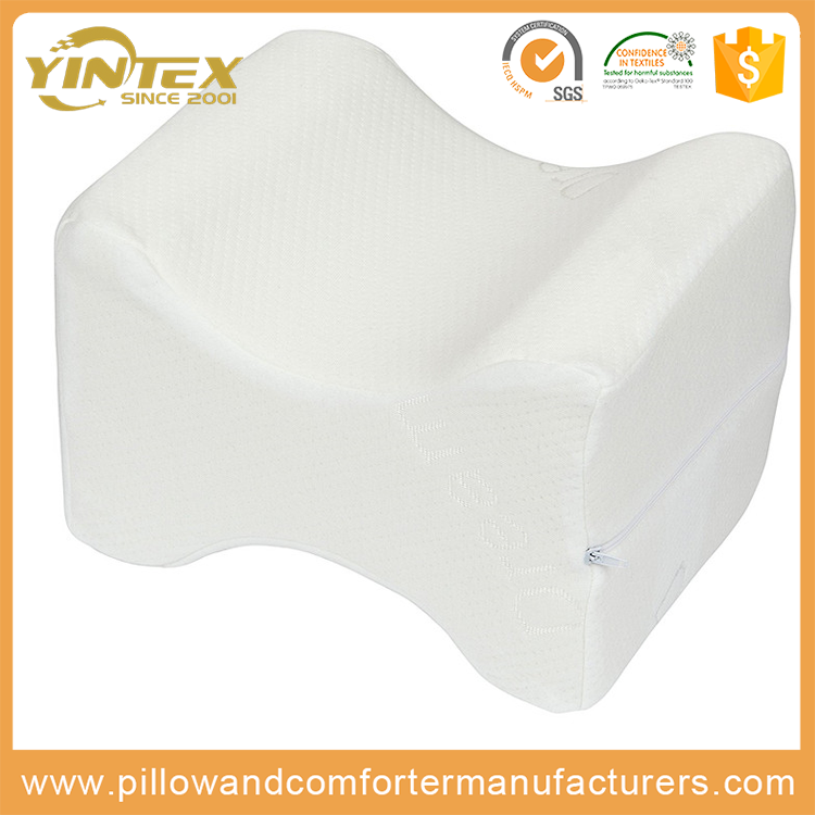 Latest Design Pillow pain relief side sleeper wholesale cheap wedge leg pillow massage memory foam knee pillow