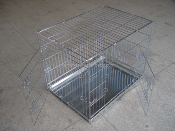 Heavy Duty Wire Dog Crate | Xxl Large Double Doors Heavy Duty Metal Wire Dog Crate Buy Dog