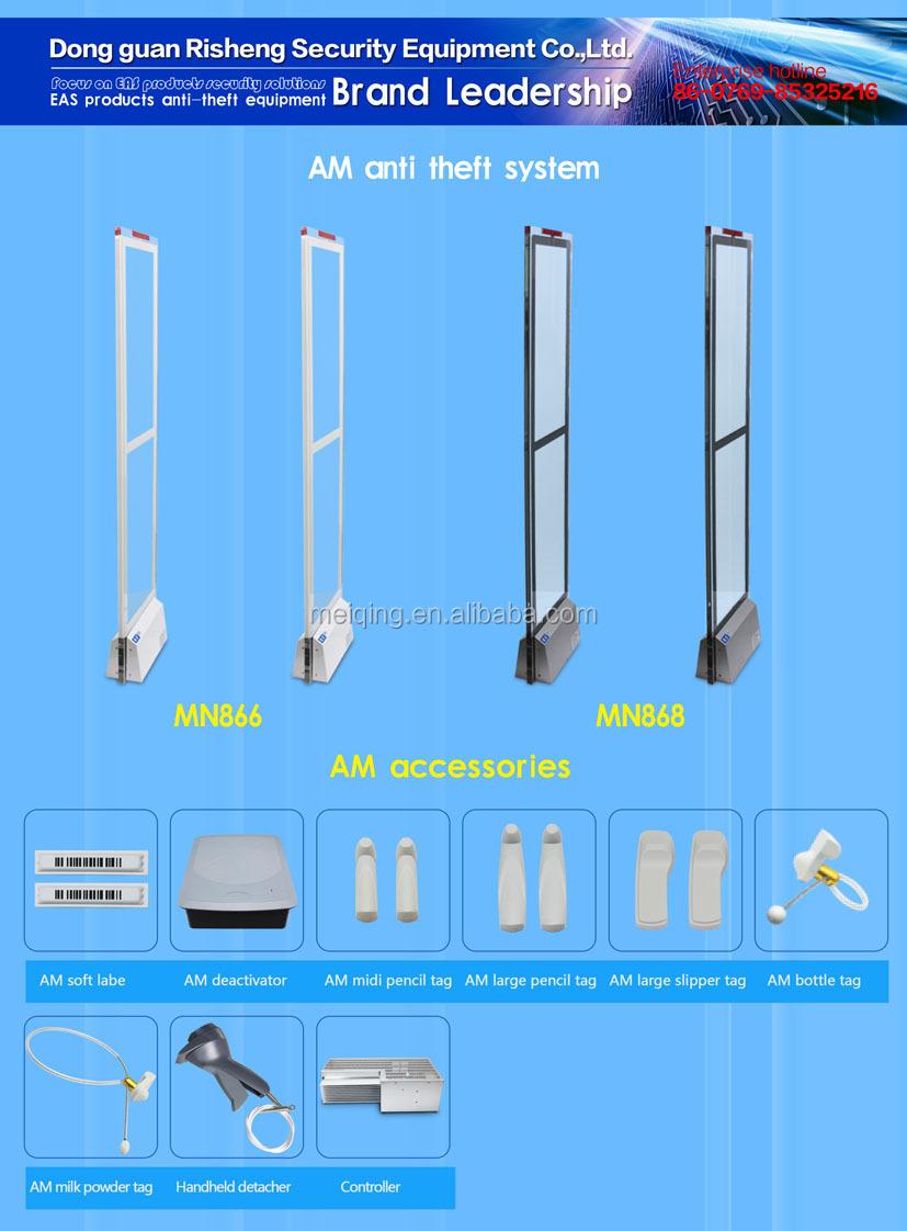 Eas Rf Crystal Acrylic System Rf Anti Theft Jammer System