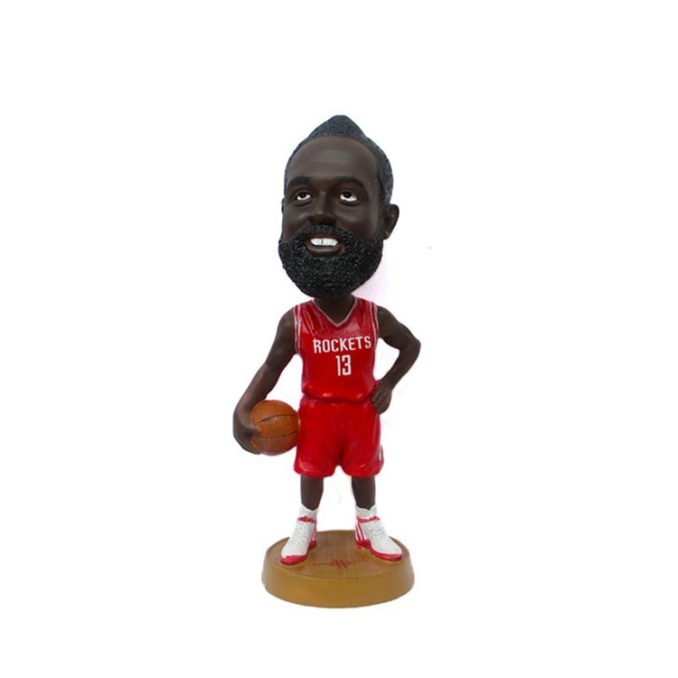 Wholesale custom cheap polyresin basketball bobblehead for sale