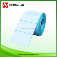 heat transfer thermal price self adhesive blank label printing machine roll sticker paper