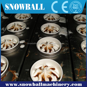 ice cream machine 6 flavors or commercial hard ice cream machine or ice cream manufacturers
