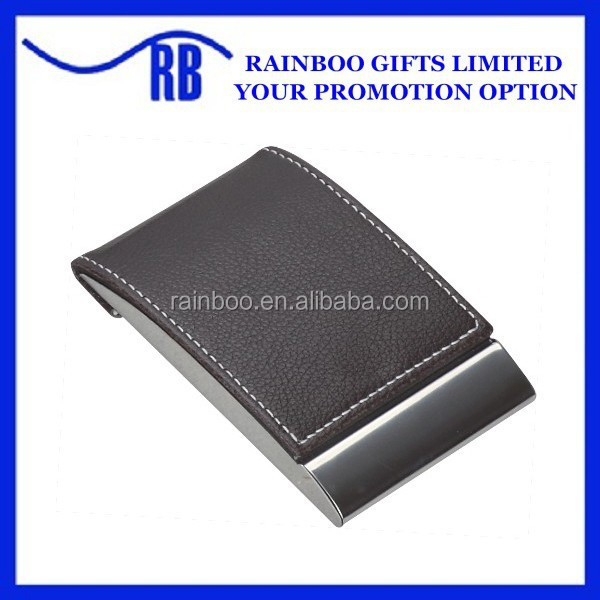 China printed leather card holder wholesale alibaba hot selling cheap logo printed pocket leather business card holder reheart Images