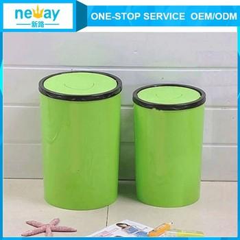 plastic dustbin home kitchen bathroom mini desktop plastic trash can with lid