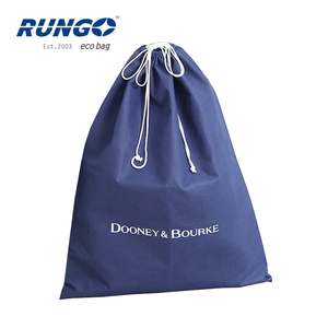 Rungo recycled non woven drawstring bags for shoes