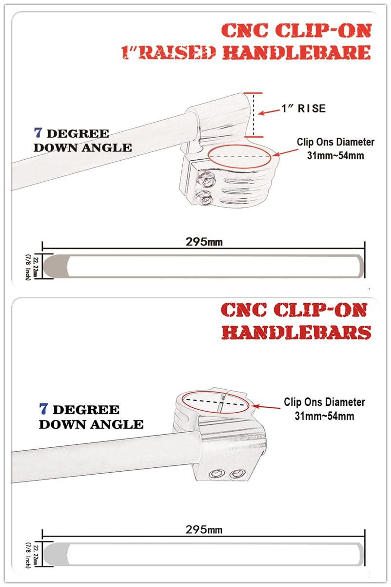 "Motorcycle1 1 ""elevado clipon clip-ons manillar bar Riser para Suzuki GSX650F katana 1988-2001"