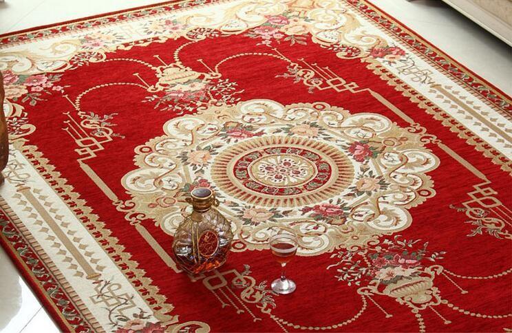 Rode Vloerbedekking Slaapkamer : Unikea klassieke rood tapijt voor woonkamer karpetten voor thuis