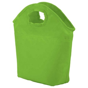 Polyester Promotional Lunch Coolers Durable Multi Pocket Cooler Bag