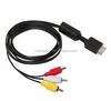New SLIM 2 RCA Composite AV Cable for PS2 Playstation