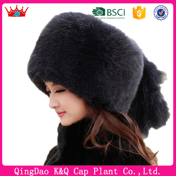 Winter Outdoor Fake Fur Russian Beanie Hat