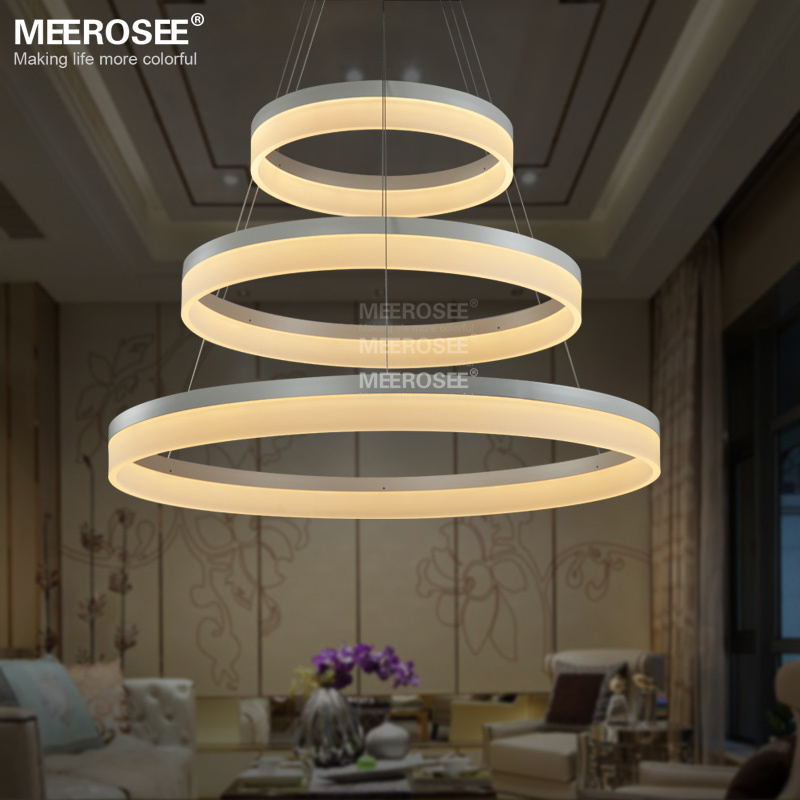 Led round chandelier modern acrylic lamp light for dinning room led round chandelier modern acrylic lamp light for dinning room led lustres 3 rings restaurant led hanging light fixture md5060 buy modern led lamp for mozeypictures Gallery