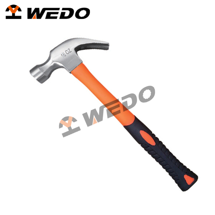 2017 High Quality Different American Type of Carbon Steel Claw Hammer With Plastic Coating Handle