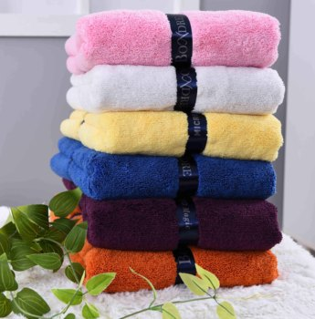 Long plush absorbent large body wrap drying towel bathroom microfiber bath towel