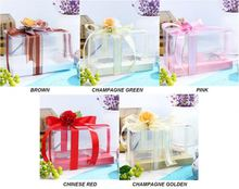 Clear Plastic Cupcake Box Packaging Transparent Box For Cupcakes