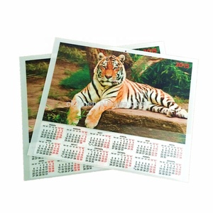 Planners 2018 diversfication plastic cover china cheap calendar printing