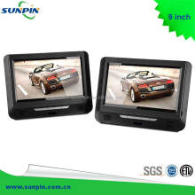 Twin Screen 9inch Headrest DVD Player Car Dual Screen In Car DVD Portable DVD Player