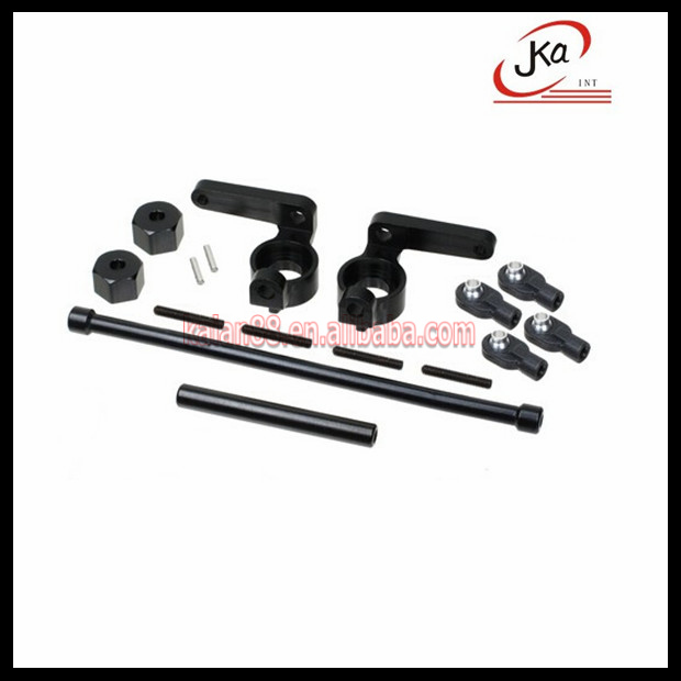 Upgrades Parts Metal knuckle and angle pole for rc Axial SCX-10 snow sand caterpillar #JKA-D013