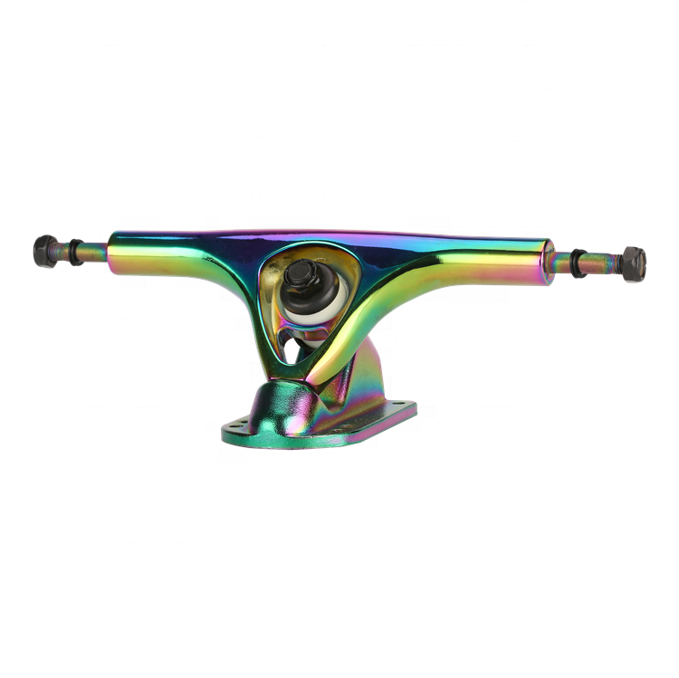 Free sample Colorful Aluminium Custom Skateboard Trucks / Longboard Trucks