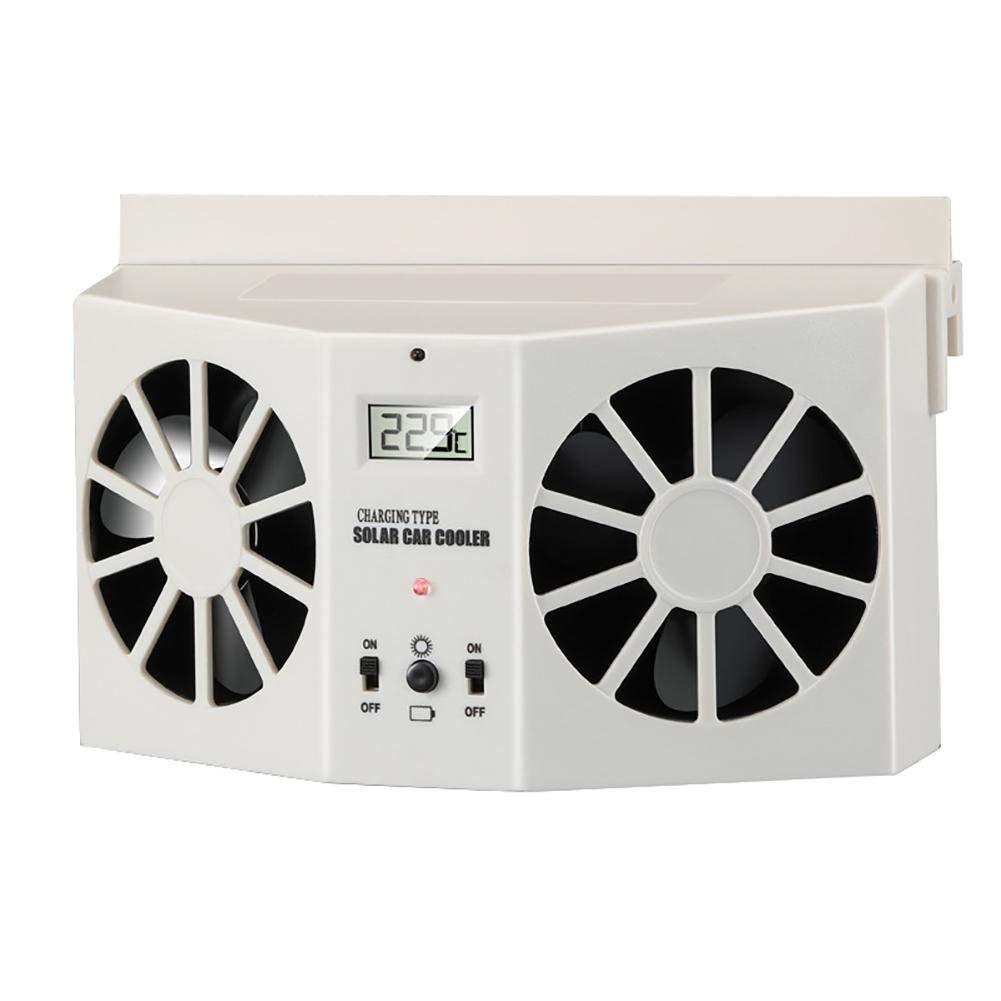 Ocamo Car Solar Energy Air Exhaust Fan Energy-saving Cooling Fans Universal Use