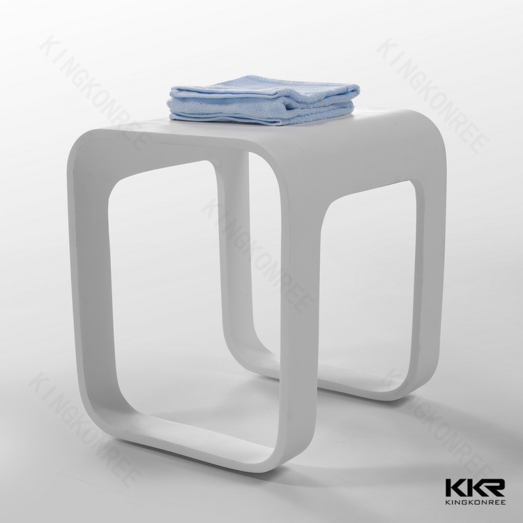 High glossy artificial stone resin acrylic bathroom stool & High Glossy Artificial Stone Resin Acrylic Bathroom Stool - Buy ... islam-shia.org